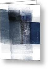 Mestro 2- Abstract Art By Linda Woods Greeting Card
