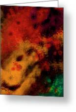 Metal Abstract - Right Greeting Card