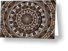 Metal Art Greeting Card