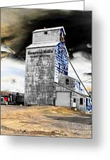 Metal Barn Greeting Card