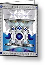 Metal Martinis Greeting Card