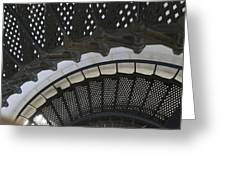 Metal Stair Case Greeting Card