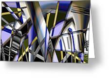 Metallic 3 Greeting Card