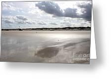 Metallic Beach Greeting Card