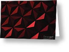 Metallic Pinwheels Greeting Card