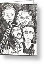 Metallica Greeting Card