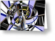 Metallics 5 Greeting Card