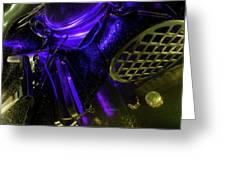 Metallurgy Greeting Card by Barbara  White