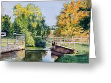 Metamora Canal Greeting Card