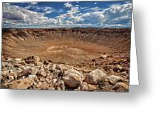 Meteor Crater Greeting Card