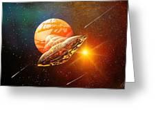 Meteorite Greeting Card