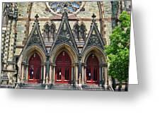 Methodist Church - Baltimore Greeting Card