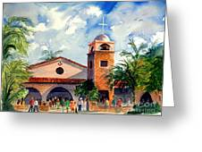 Methodist Church  Gilbert Az Greeting Card