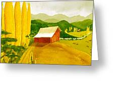 Methow Gold Greeting Card