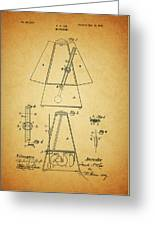 Metronome Patent Greeting Card