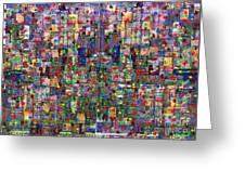 Metropolis Ix  Greeting Card