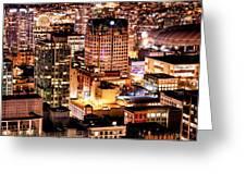 Metropolis Vancouver Mdccxv  Greeting Card