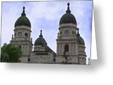 Metropolitan Cathedral Greeting Card