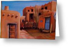 Mexican Adobe Greeting Card