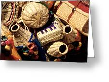 Mexican Baskets Greeting Card