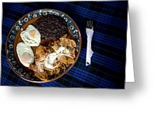 Mexican Breakfast Greeting Card