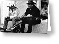 Mexican Cowboys Greeting Card