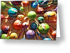 Mexican Maracas Greeting Card