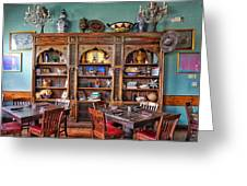 Mexican Restaurant Decor Greeting Card
