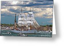 Mexican Tall Ship Cuathtemocl Greeting Card