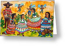 Mexican Women Greeting Card