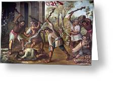 Mexico: Christian Martyrs Greeting Card
