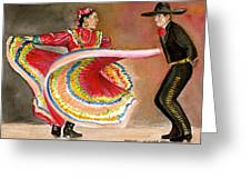 Mexico City Ballet Folklorico Greeting Card