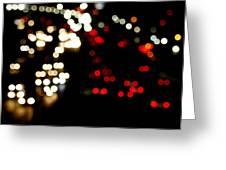 Mexico City De Noche Greeting Card