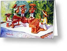 Mexico Mariachis Greeting Card