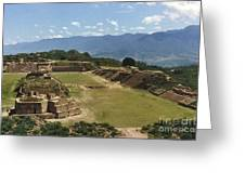 Mexico: Monte Alban Greeting Card