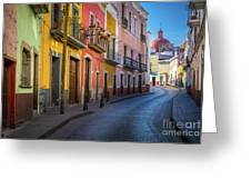 Mexico Street Greeting Card
