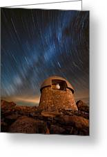 Meyer Womble Star Trails Greeting Card