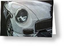 MGB Greeting Card