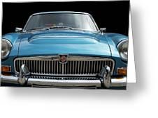Mgc Classic Car Greeting Card