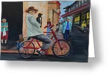 Mi Bicicleta Greeting Card
