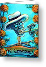 Mi Cerveza II Greeting Card