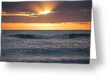 Miami Beach Florida Sunrise Greeting Card