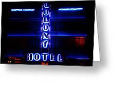 Miami Deco Greeting Card
