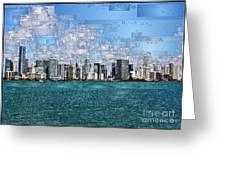 Miami, Florida Greeting Card