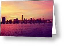 Miami Nights Greeting Card