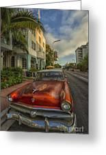 Miami Ride Greeting Card