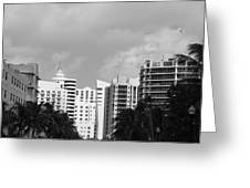 Miami Sky Greeting Card
