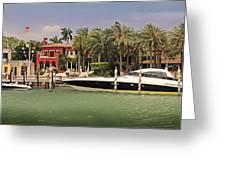 Miami Style Greeting Card