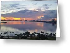 Miami Sunrise Part 1 Greeting Card