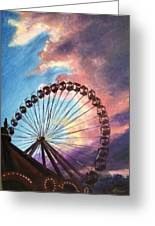 Mia's Ferris Wheel Greeting Card